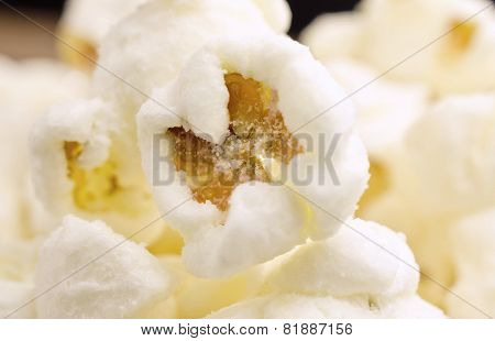 Close-up of sweet popcorn