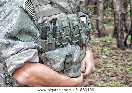 Us Soldier's Gear