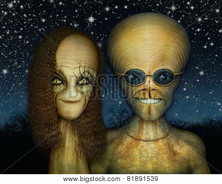 Extraterrestrial Couple