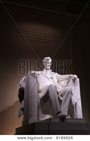 Lincoln memorial in DC