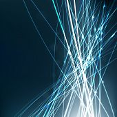 image of futuristic  - Abstract lighting lines vector background - JPG