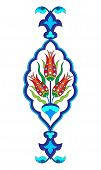 picture of ottoman  - Flower designs inspired by the Ottoman decorative arts - JPG