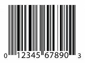 image of barcode  - a black and white barcode background image - JPG