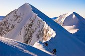 pic of avalanche  - Hiking in the winter - JPG