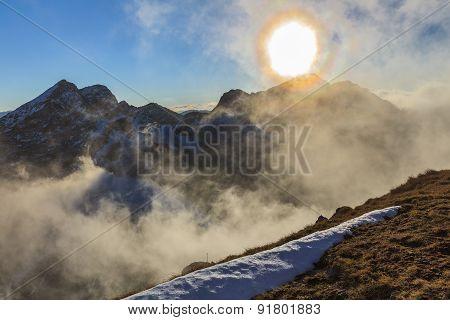 The Fagaras Mountains