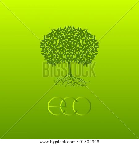 Vector Ecologic Symbol.