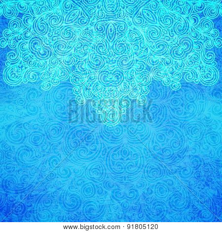 Frosty Pattern, Vector Illustration