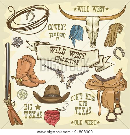 Wild West Collection Icons