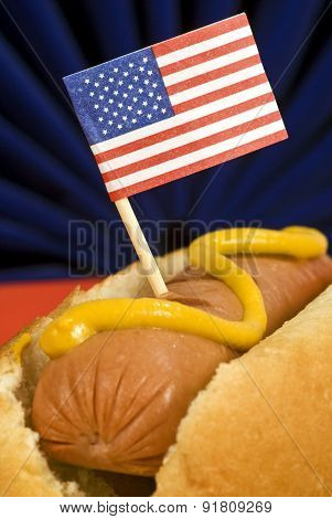 The American Hot Dog