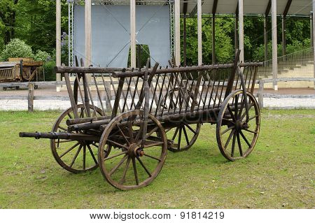 Old carriage trailer