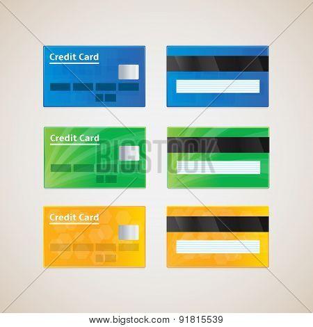 Credit Cards.