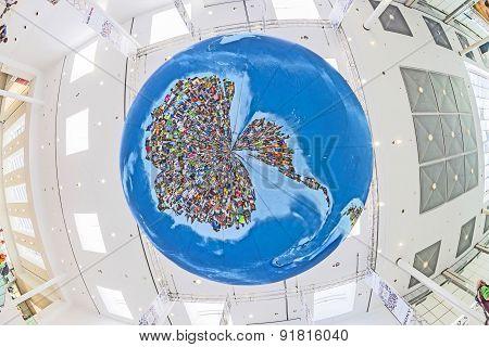 Photo Globe  In Cologne