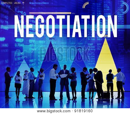 Negotiation Compromise Contract Agreement Decision Concept