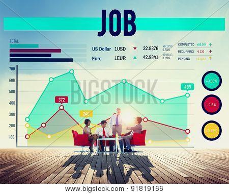 Job Occupation Hiring Recruitment Profession Concept