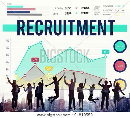 Recruitment Human Resources Job Occupation Concept