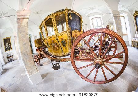 Golden Carriage For Parades