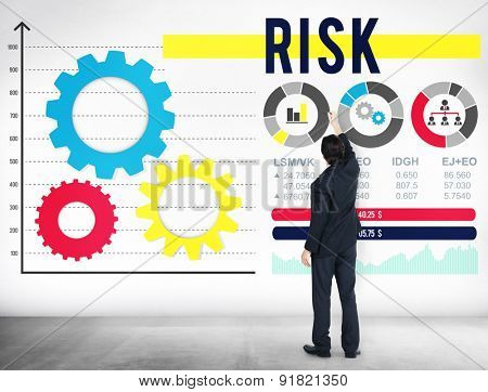 Risk Risk Management Dangerous Safety Security Concept