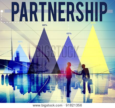 Partnership Partner Collaboration Teamwork Support Concept