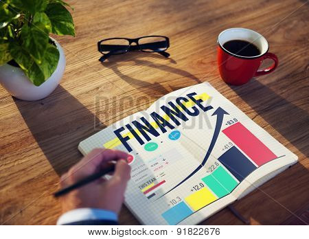 Finance Accounting Analysis Management Concept