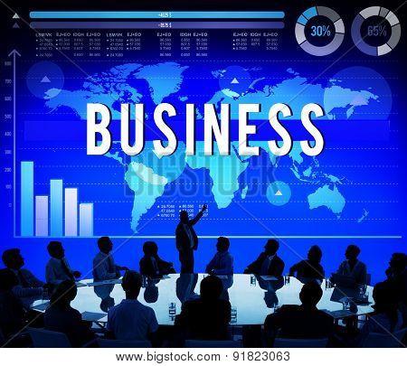 Business Marketing Organization Company Concept