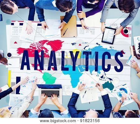 Analytics Analysis Planning Strategy Marketing Concept