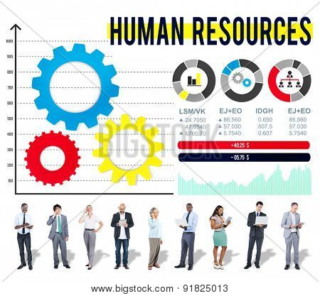 Human Resources Hiring Job Occupation Concept