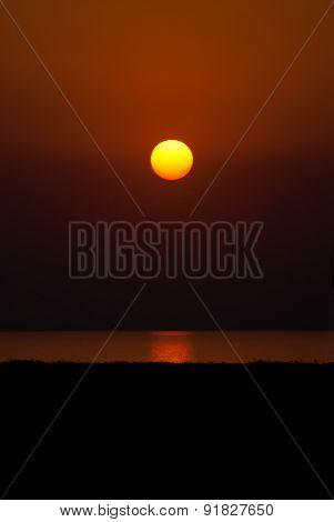 Egg Yolk Sunset