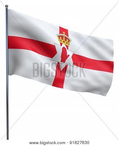 Northern Ireland Flag Waving