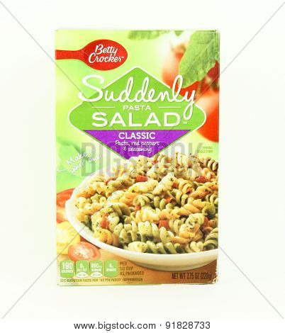 Box Of Betty Crocker Suddenly Salad Pasta