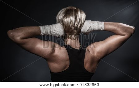 Sporty Athletic Woman