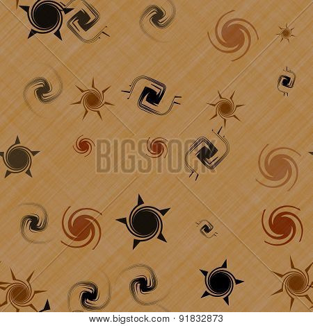 Stars Generated Seamless Texture