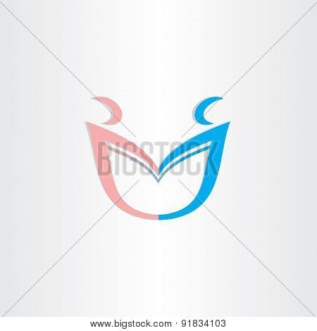 Boy And Girl Couple In Love Symbol