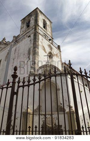 Church Of St. Sebastian (igreja De Sao Sebastiao) Lago, Portugal,