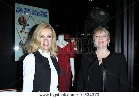LOS ANGELES - MAY 27:  Donna Mills, Alison Arngrim at the Missing Marilyn Monroe Images Unveiled at the Hollywood Museum on May 27, 2015 in Los Angeles, CA