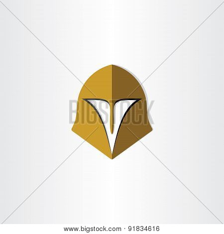 Gladiator Helmet Cap Icon