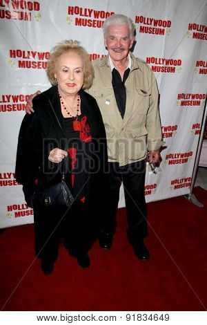 LOS ANGELES - MAY 27:  Doris Roberts, Jack Betts at the Missing Marilyn Monroe Images Unveiled at the Hollywood Museum  on May 27, 2015 in Los Angeles, CA