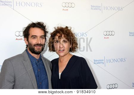 LOS ANGELES - MAY 27:  Jay Duplass, Jill Soloway at the 8th Annual Television Academy Honors - Arrivals at the Montage Hotel on May 27, 2015 in Beverly Hills, CA