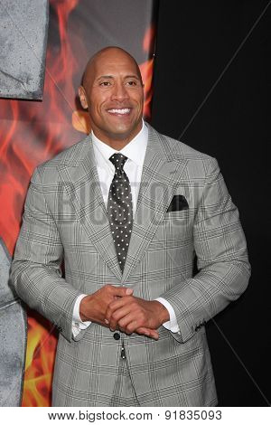LOS ANGELES - MAY 26:  Dwayne Johnson at the