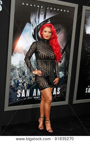 LOS ANGELES - MAY 26:  Eva Marie at the