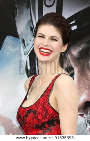 LOS ANGELES - MAY 26:  Alexandra Daddario at the