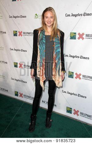LOS ANGELES - MAY 26:  Brianna Barnes at the