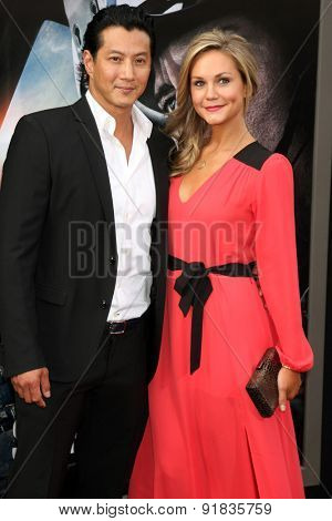 LOS ANGELES - MAY 26:  Will Yun Lee, Jennifer Birmingham Lee at the