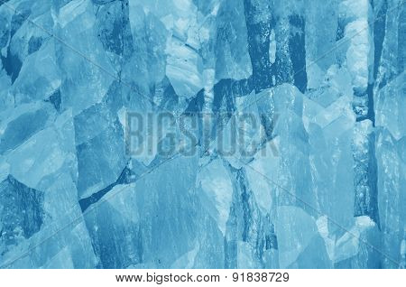 Abstract Blue Background From Jade Surface, Background Or Texture.