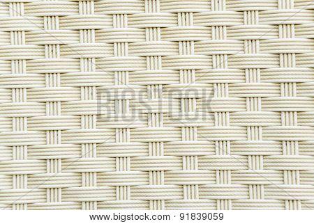 Weave Plastic Wicker Pattern Background