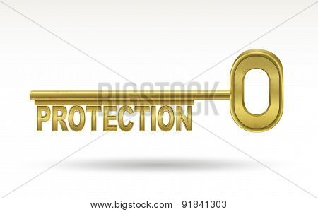 Protection - Golden Key