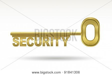 Security - Golden Key