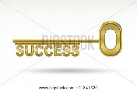 Success - Golden Key