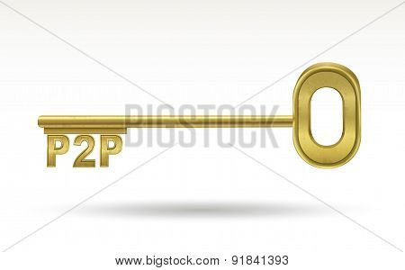 P2P - Golden Key