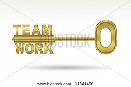 Team Work - Golden Key