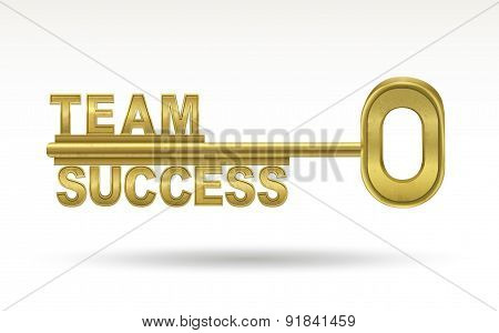 Team Success - Golden Key